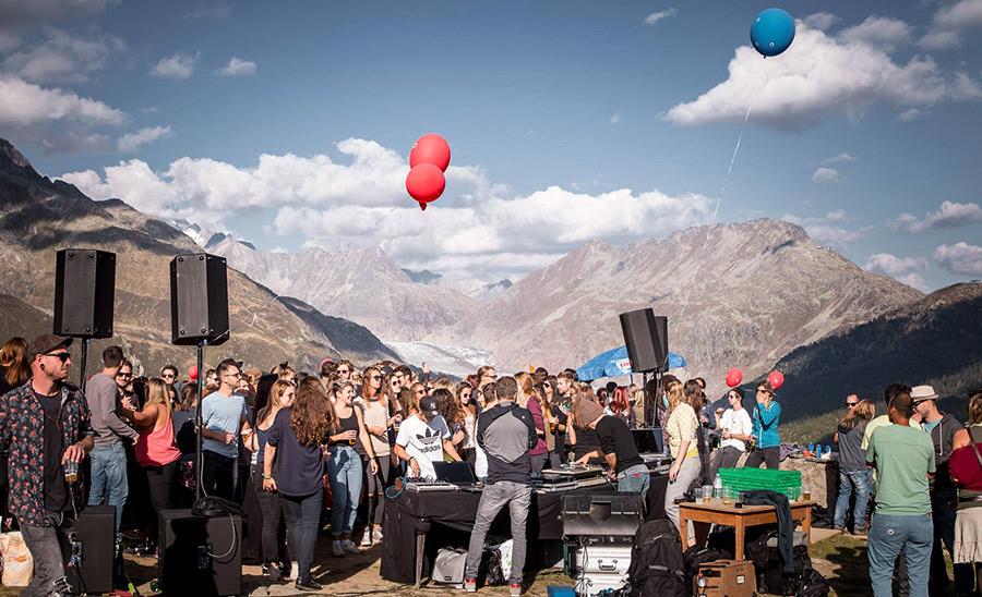 andres marcos revellado live herbsttanz el azra - aletsch gletscher 2016