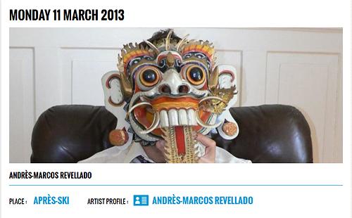 Andrés Marcos Revellado (Wondermachine) - Live - Caprices Festival 2013